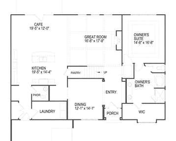 1507 Virgo Lane - 2d floor plan