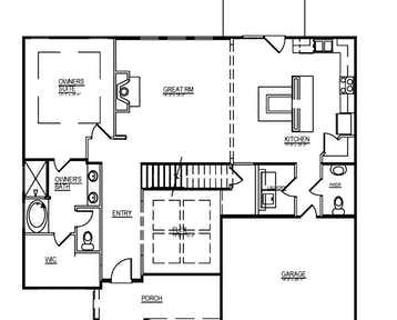 Alderwood - 2d floor plan