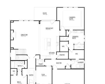 Aspen - 2d floor plan