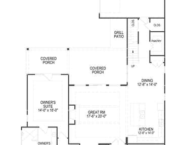 Belmont - 2d floor plan