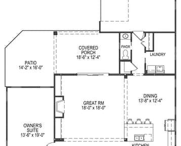 Carolina - 2d floor plan