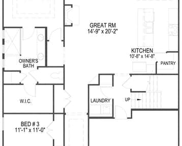Cypress - 2d floor plan