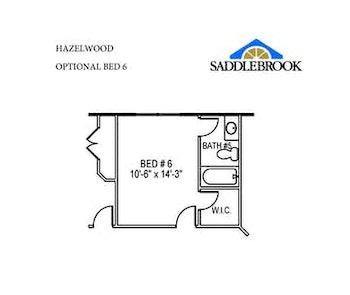 Willow- Floor Plan Option 6