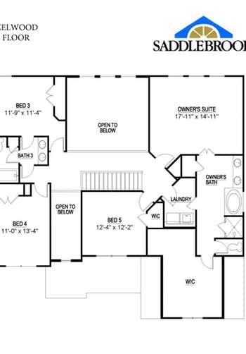 Hazelwood- 2d Floor Plan 2