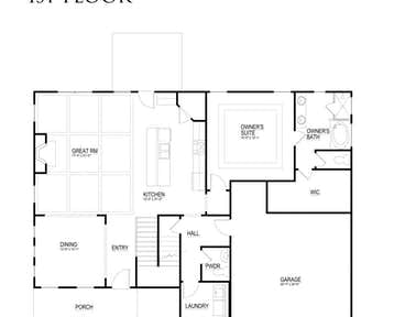 Kinsley - 2d floor plan
