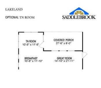 Lakeland- Floor Plan Option 2
