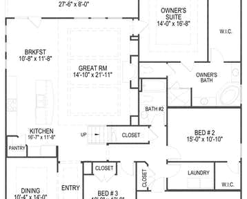 Lakeland - 2d floor plan
