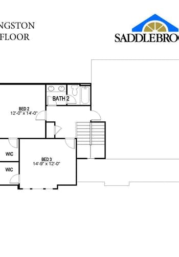 Livingston- 2d Floor Plan 2