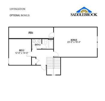 Willow- Floor Plan Option 1