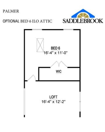 Willow- Floor Plan Option 2