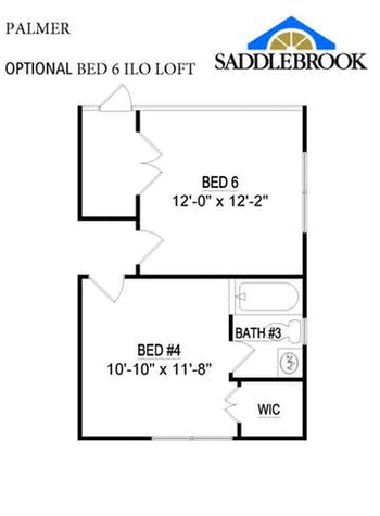 Willow- Floor Plan Option 3