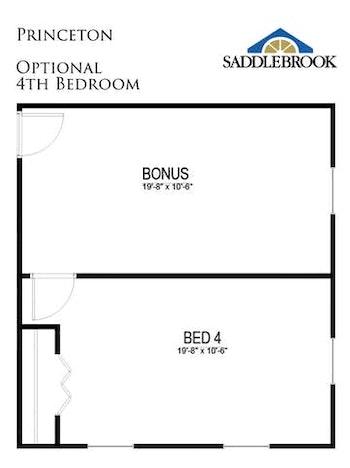 Princeton- Floor Plan Option 3