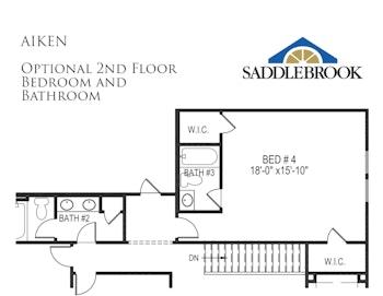 Aiken- Floor Plan Option 2