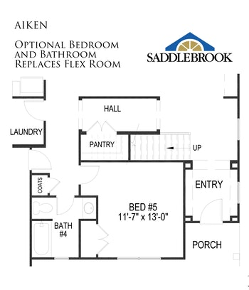 Willow- Floor Plan Option 3