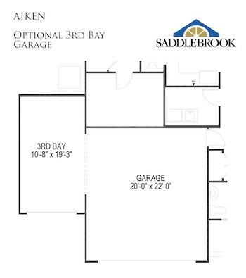 Aiken- Floor Plan Option 5