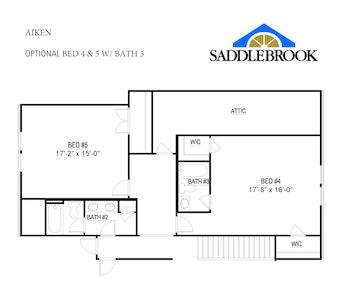 Aiken- Floor Plan Option 6