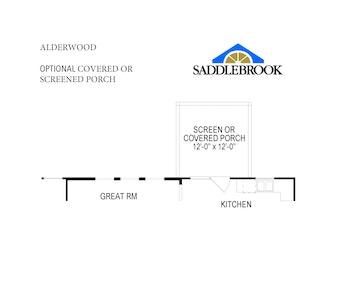 Alderwood- Floor Plan Option 4