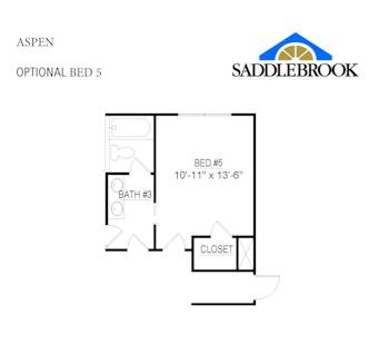 Aspen- Floor Plan Option 3