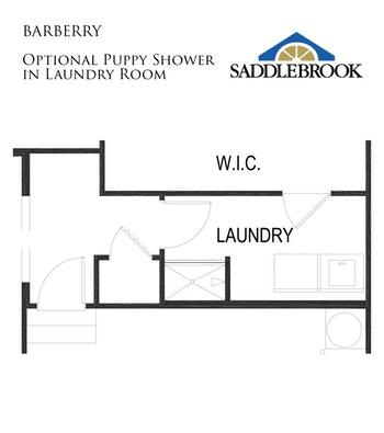 Barberry- Floor Plan Option 3