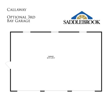 Callaway- Floor Plan Option 1