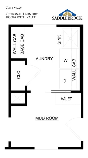 Callaway- Floor Plan Option 3