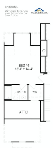 Carolina- Floor Plan Option 10