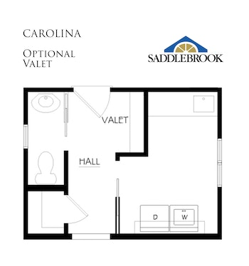 Carolina- Floor Plan Option 16