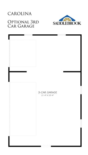 Carolina- Floor Plan Option 1