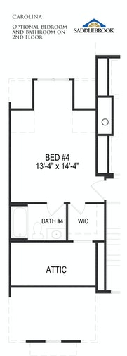 Carolina- Floor Plan Option 2