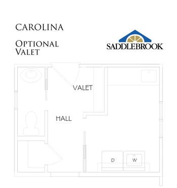 Carolina- Floor Plan Option 8