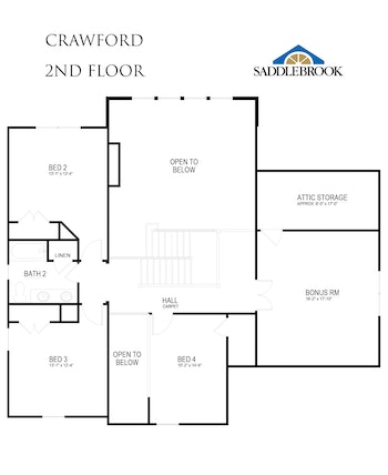 Crawford- 2d Floor Plan 2