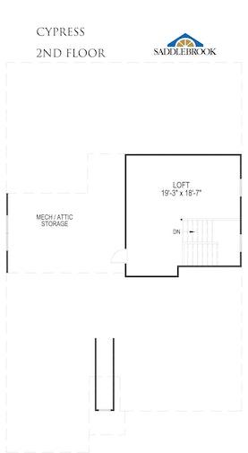 Cypress- 2d Floor Plan 2