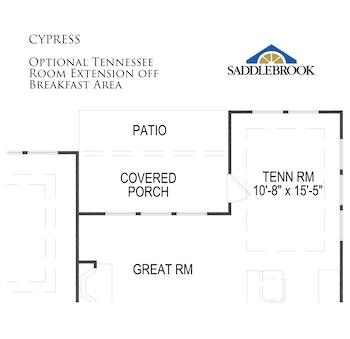 Cypress- Floor Plan Option 6