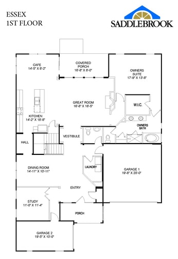 Essex- 2d Floor Plan 1