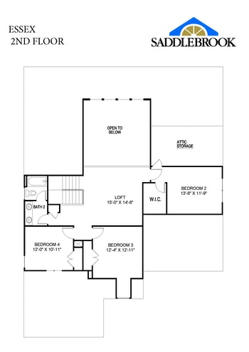 Essex- 2d Floor Plan 2