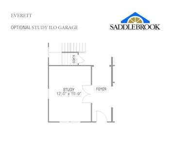 Willow- Floor Plan Option 2