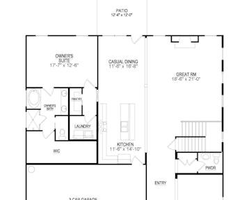 Martin - 2d floor plan