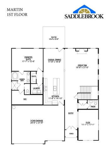 Martin- 2d Floor Plan 1