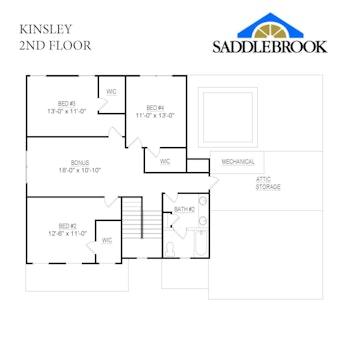 Kinsley- 2d Floor Plan 2