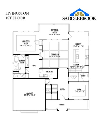 Livingston- 2d Floor Plan 1