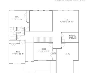 Alderwood - 2d floor plan